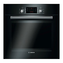 Buy Bosch Exxcel HBG53R560B Built-in Single Oven, Black Online at johnlewis.com