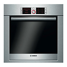 Buy Bosch Logixx HBG78R750B Single Electric Oven, Brushed Stainless Steel Online at johnlewis.com