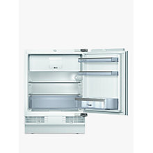 Buy Bosch KUL15A60GB Integrated Undercounter Larder Fridge, A++ Energy Rated, 55cm Wide, White Online at johnlewis.com