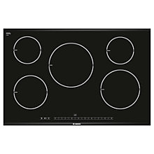 Buy Bosch PIM875N14E Induction Hob, Black Online at johnlewis.com