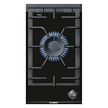 Buy Bosch PRA326B70E Domino Gas Hob, Black Online at johnlewis.com