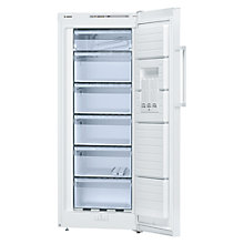 Buy Bosch GSV24VW30 Tall Freezer, A++ Energy Rating, 60cm Wide, White Online at johnlewis.com
