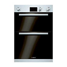 Buy Bosch HBM13B120B Double Electric Oven, White Online at johnlewis.com