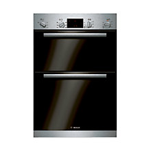 Buy Bosch Classixx HBM43B150B Built-in Double Electric Oven, Brushed Steel Online at johnlewis.com