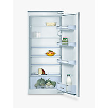 Buy Bosch Classixx KIR24V20GB Integrated Larder Fridge, A+ Energy Rated, 55cm Wide, White Online at johnlewis.com