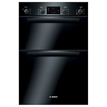Buy Bosch Classixx HBM43B260B Double Electric Oven, Black Online at johnlewis.com
