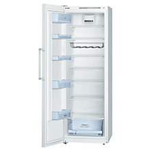 Buy Bosch KSV33VW30G Tall Larder Fridge, A++ Energy Rating, 60cm Wide, White Online at johnlewis.com