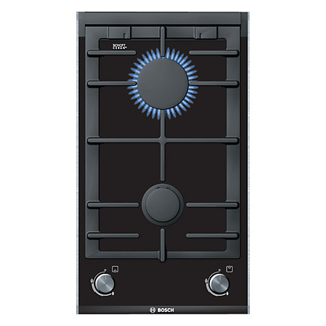 Buy Bosch PRB326B70E Domino Gas Hob, Black Online at johnlewis.com