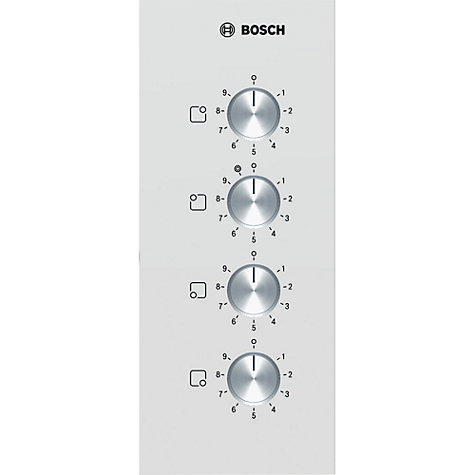 Buy Bosch PKF659C17E Ceramic Hob, White Online at johnlewis.com
