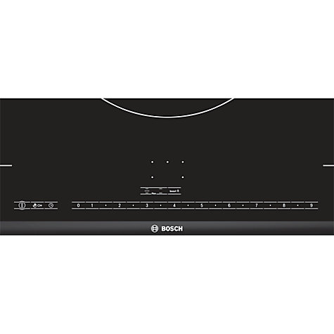 Buy Bosch PIZ975N17E Flex Induction Hob, Black Online at johnlewis.com