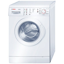 Buy Bosch WAE24167UK Washing Machine, 6kg Load, A+++ Energy Rating, 1200rpm Spin, White Online at johnlewis.com