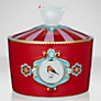 PiP Studio Love Birds Sugar Bowl, H6.5cm, Red