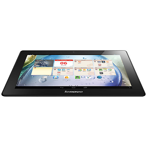 "Buy Lenovo IdeaTab S6000 Tablet, Quad-core Processor, Android, 10.1"", Wi-Fi, 16GB, Black Online at johnlewis.com"
