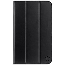 Buy Belkin Tri-Fold Folio Case for Samsung Tab 3 8.0, Black Online at johnlewis.com