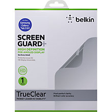 Buy Belkin TrueClear Anti-Smudge Screen Protector for Samsung Galaxy Tab 3 8.0 Online at johnlewis.com