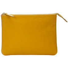 "Buy John Lewis Leather Zip Purse for Tablets up to 10.1"" Online at johnlewis.com"