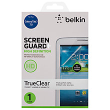 Buy Belkin Screen Overlay HD for Samsung Galaxy Tab 3 7.0 Online at johnlewis.com