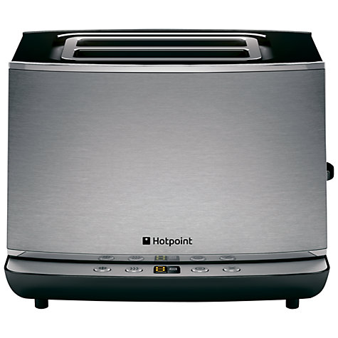 Buy Hotpoint TT22EAX0UK 2-Slice Toaster, Stainless Steel Online at johnlewis.com