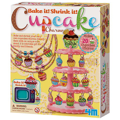 Buy Great Gizmos Cupcake Charms Kit Online at johnlewis.com