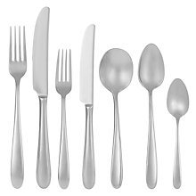 Buy John Lewis Outline Cutlery Place Setting, 7 Pieces Online at johnlewis.com