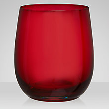 Buy John Lewis Rural Tumbler, Red Online at johnlewis.com