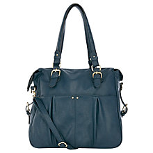 Buy Oasis Taunton Tote Handbag, Navy Online at johnlewis.com