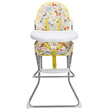 Buy John Lewis Farmyard Highchair & Splash Mat Bundle Online at johnlewis.com