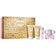 Buy Versace Bright Crystal Eau de Toilette Gift Set, 50ml Online at johnlewis.com