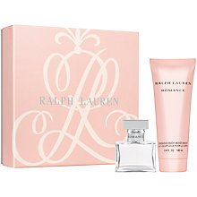 Buy Ralph Lauren Romance Eau De Parfum Gift Set, 30ml Online at johnlewis.com