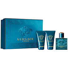 Buy Versace Eros Eau de Toilette Fragrance Gift Set, 50ml Online at johnlewis.com