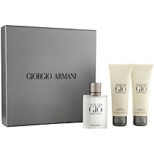 Buy Giorgio Armani Acqua di Giò Homme Eau de Toilette Gift Set, 50ml Online at johnlewis.com