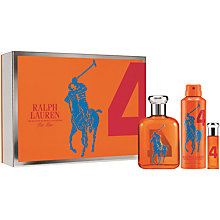 Buy Ralph Lauren Big Pony Orange Eau de Toilette Gift Set, 75ml Online at johnlewis.com