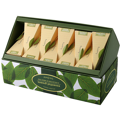 Buy Tea Forte Essential Greens Tea Set, 20 bags Online at johnlewis.com