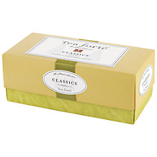 Buy Tea Forté Classic Tea Box, 20 bags, 60g Online at johnlewis.com
