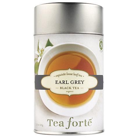 Buy Tea Forte Loose Leaf Earl Grey, 100g Online at johnlewis.com