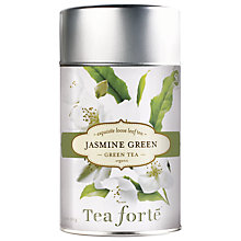 Buy Tea Forté Loose Leaf Jasmine Green, 100g Online at johnlewis.com