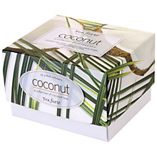 Buy Tea Forté Coconut Tea Set, 10 bags Online at johnlewis.com