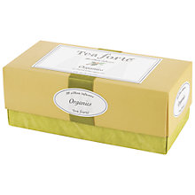 Buy Tea Forté Organic Tea Set, 20 bags, 70g Online at johnlewis.com