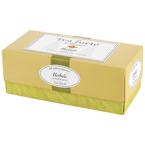 Buy Tea Forte Herbal Tea Set, 20 bags Online at johnlewis.com