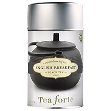 Buy Tea Forte Loose Leaf English Breakfast, 100g Online at johnlewis.com