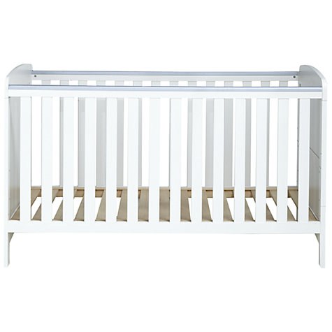 Buy John Lewis Toronto Cotbed, White Online at johnlewis.com