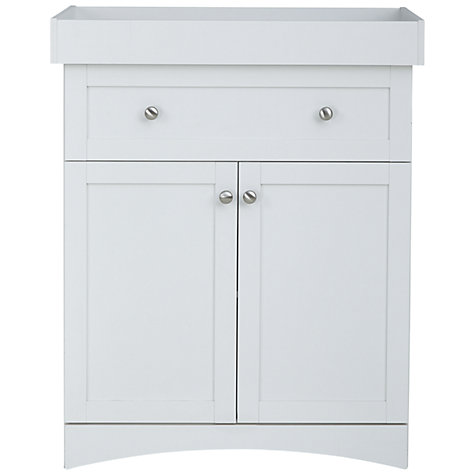 Buy John Lewis Toronto Changer/Dresser, White Online at johnlewis.com