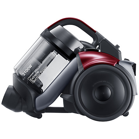 Buy Samsung VC21F50HDDR Cylinder Vacuum Cleaner, Vitality Red Online at johnlewis.com