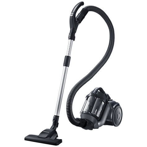 Buy Samsung VC21F50UKGC UV Cylinder Vacuum Cleaner, Titanium Silver Online at johnlewis.com