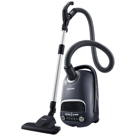Buy Samsung VC21F60YKGC UV Cylinder Vacuum Cleaner, Titanium Silver Online at johnlewis.com