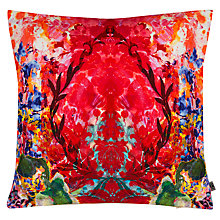 Buy Timorous Beasties for John Lewis Eastern Smudge Cushion, Damask Online at johnlewis.com