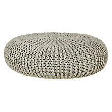 Buy House by John Lewis Knitted Pouffe Online at johnlewis.com