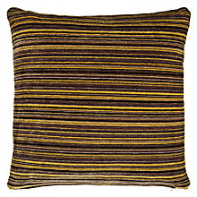 Buy John Lewis Rayas Cushion, Yellow / Black Online at johnlewis.com