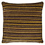 John Lewis Rayas Cushion, Yellow / Black