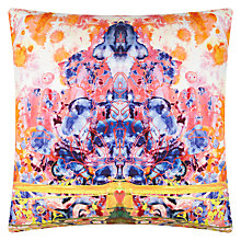 Buy Timorous Beasties for John Lewis Splitter Splatter Damask Cushion Online at johnlewis.com